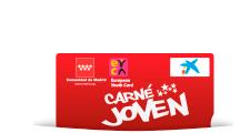Tarjeta del Carné Joven de la Comunidad de Madrid